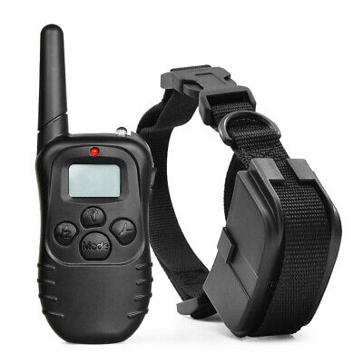 Dog Shock Collar With Remote Waterproof Electric for Large 328 Yard Pet Training 2