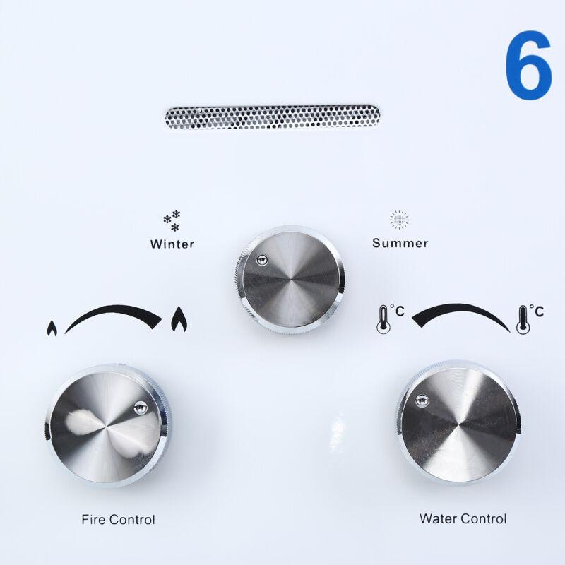 6 /8 /12/18L Chauffe eau au NG/LPG instantané à gaz propane butane Chaudière 5