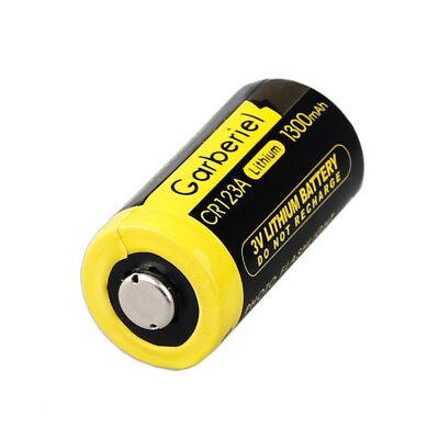 20-Pack 3V 1300mAh 16340 Flashlight 85177 CR123A High Power Li-Ion Batteries Hot 5