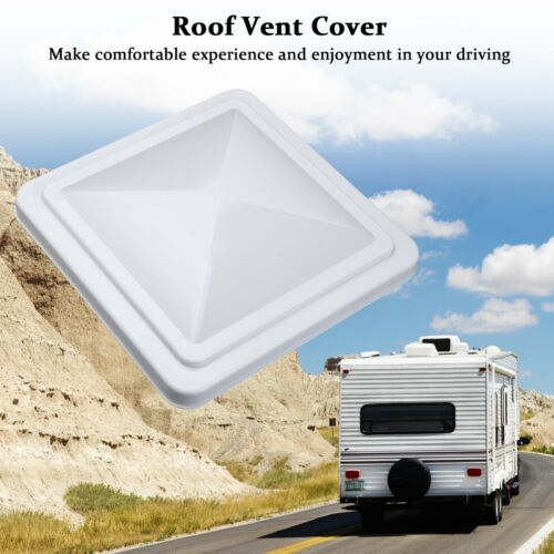 "14""x14"" Universal Trailer Car RV Roof Vent Cover Camper Trailer Motorhome Lid US 2"