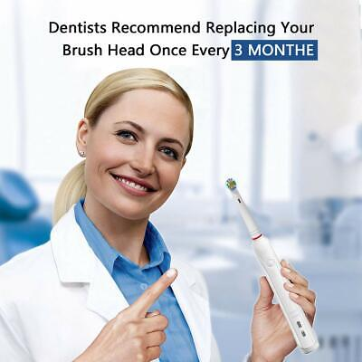 Electric Toothbrush Heads Compatible With Oral B Braun Toothbrush Head Models 4