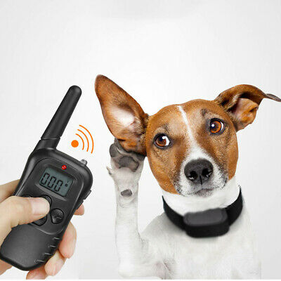 Dog Shock Collar With Remote Waterproof Electric for Large 328 Yard Pet Training 3
