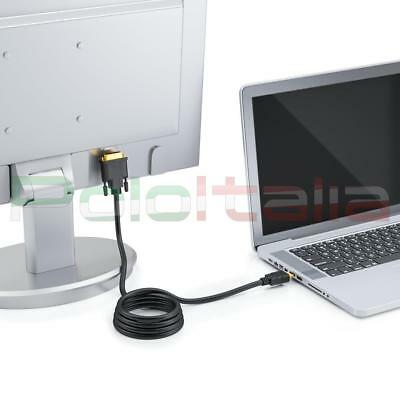 Cavo da 1 a 20m DVI-D dual link 24+1   HDMI maschio audio video cable adattatore 6
