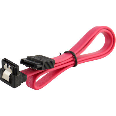 "5x 18"" SATA 3.0 Cable SATA3 III 6GB/s Right Angle 90 Degree SSD HDD Hard Drive 2"