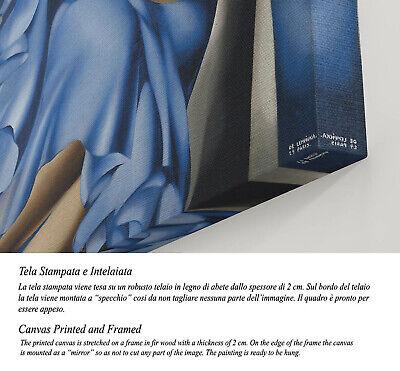 🎻 Quadro Tamara de Lempicka Donna con Mandolino Stampa su Tela Effetto Dipinto 3