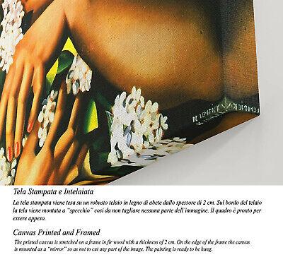 🌷Quadro Tamara de Lempicka Printemps Stampa Fine Art su Tela Vernice Pennellate 3