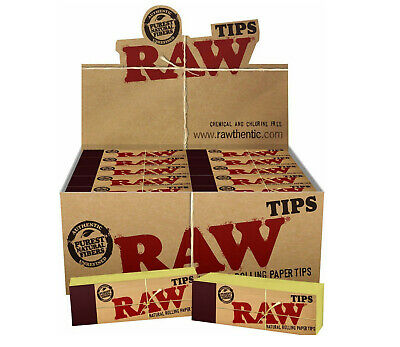 RAW Rolling Paper Smoking Chlorine Free Genuine Roach Roaches Book Filter Tips 2