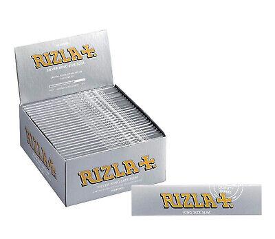 Rizla Silver King Size Slim Ultra Thin Cigarette Smoking Rolling Papers Original 2