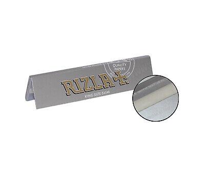 Rizla Silver King Size Slim Ultra Thin Cigarette Smoking Rolling Papers Original 5