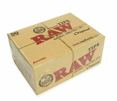 RAW Rolling Paper Smoking Chlorine Free Genuine Roach Roaches Book Filter Tips 3