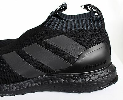 buy popular d5300 35ef9 ... Adidas Ace 16+ Purecontrol Ultra Boost Triple Black BY9088 UK 5 7 8 9 10