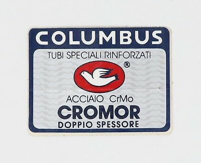 NOS ORIGINAL COLUMBUS EVOLUTION CUSTOM DECAL 90s VINTAGE