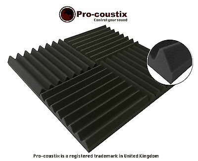 Genuine Pro-coustix Ultraflex Wedge High Quality Acoustic foam tiles 24 panels 3