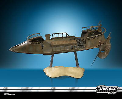 Star Wars The Vintage Collection Jabba's Tatooine Skiff Collectible Vehicle 7