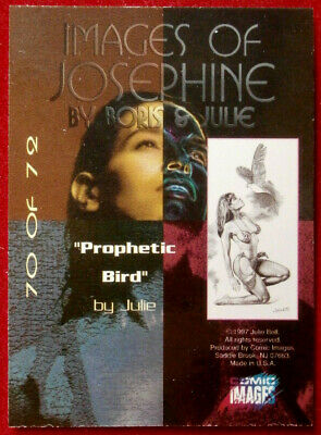 IMAGES OF JOSEPHINE - Individual Card #70 - PROPHETIC BIRD - Julie Bell 2