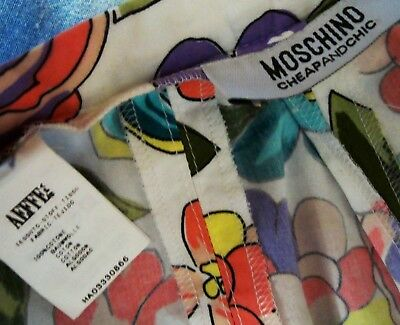 TROUSERS vintage woman MOSCHINO Cheap and Chic  made Italy TG.42-S New! RARE 9