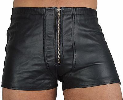 533 aus lammnapa PO frei ledershorts Gay Kurze Lederhose,leder shorts leather 2