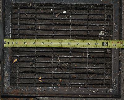Vintage Floor / Wall Heat Register Metal Vent  Antique Grate 4