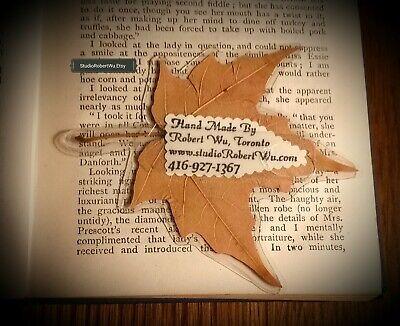 Genuine Canadian Maple Leaf Bookmark! 3