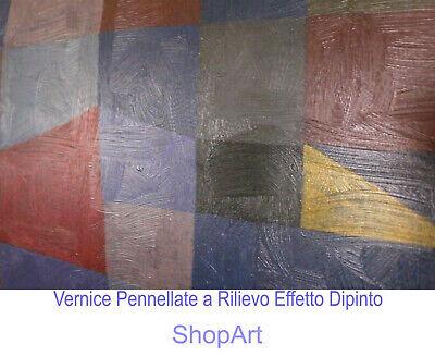 Quadro Astratto Rothko Ochre and Red on Red Stampa su Tela Vernice Pennellate