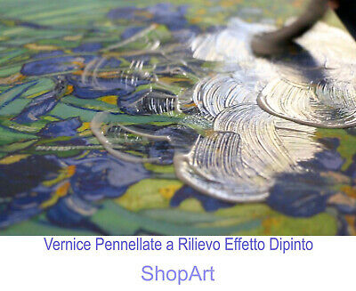 Quadro Capezzale La Sacra Famiglia Stampa su Tela Canvas con Vernice Pennellate