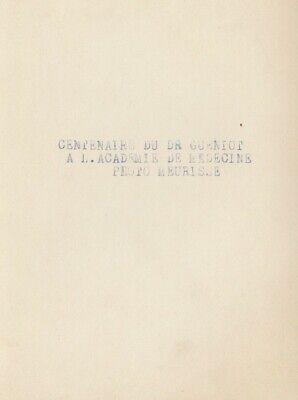 Académie de Médecine, 2 photos argentiques Meurisse circa 1932 3