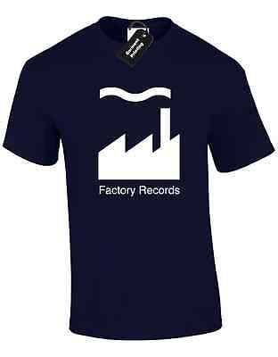 Factory Records Mens T Shirt Tee Manchester Music 90'S Acid House Rave Hacienda 7
