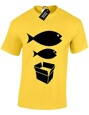 Big Fish Little Fish Mens T Shirt S-5Xl Dance Dj Acid House Rave Hacienda Music 8