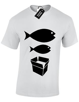 Big Fish Little Fish Mens T Shirt S-5Xl Dance Dj Acid House Rave Hacienda Music 10