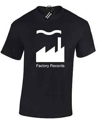 Factory Records Mens T Shirt Tee Manchester Music 90'S Acid House Rave Hacienda 10