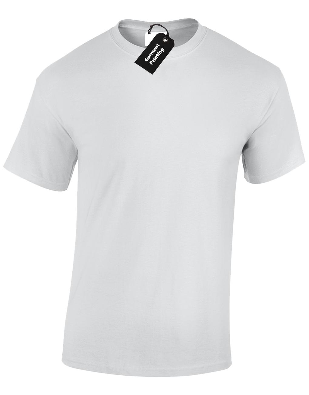 Mens Personalised Printed T-Shirt Unisex Custom Design Logo Uniform Stag Do Fun 9