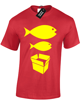 Big Fish Little Fish Mens T Shirt S-5Xl Dance Dj Acid House Rave Hacienda Music 7