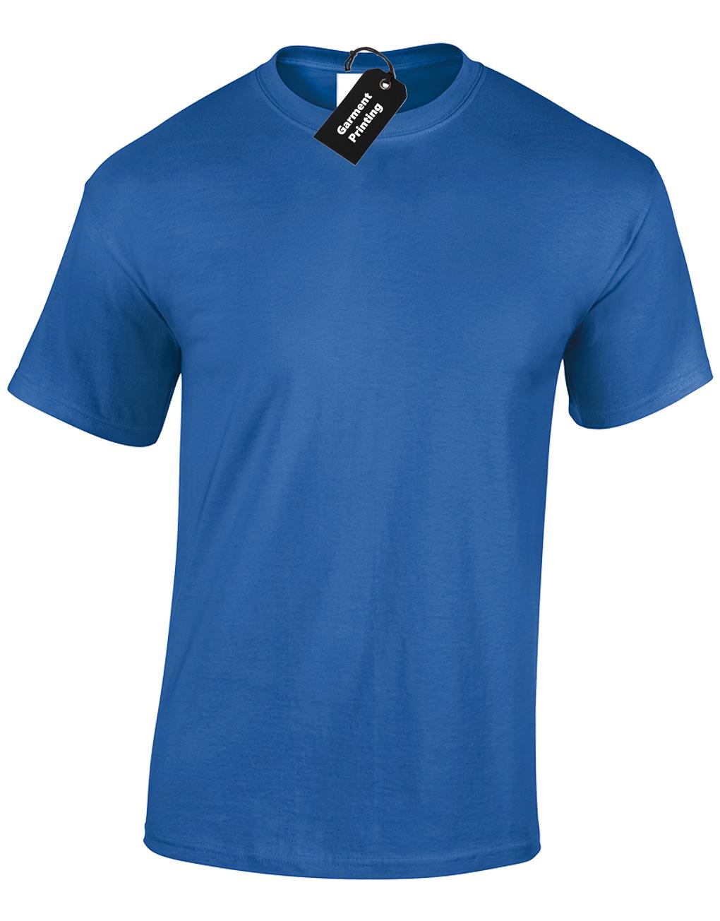 Mens Personalised Printed T-Shirt Unisex Custom Design Logo Uniform Stag Do Fun 8