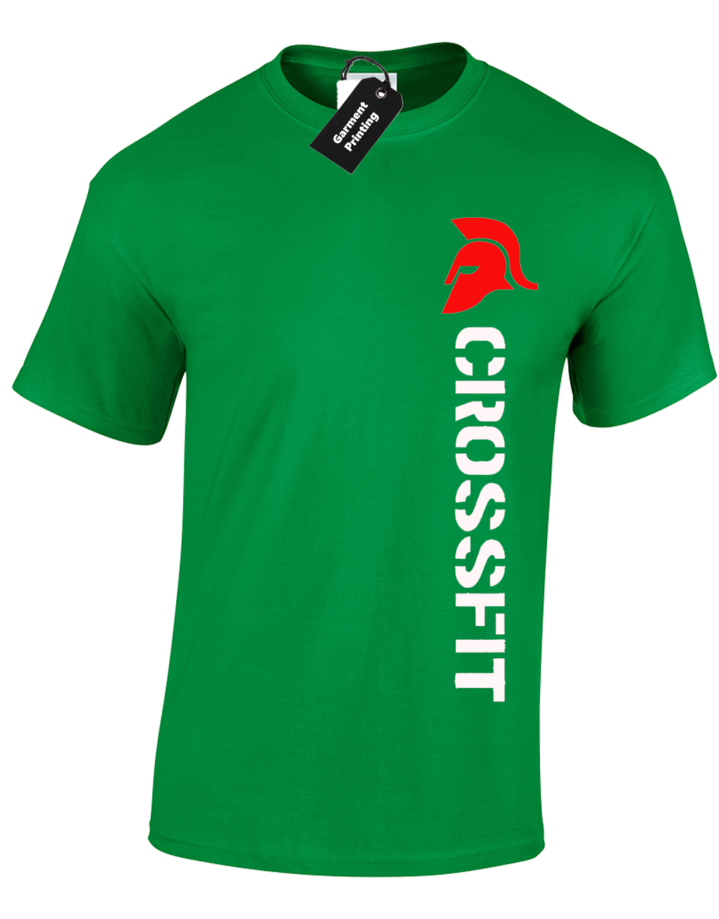 03ff35e80 Crossfit Spartan Mens T-Shirt Training Top For Gym Weights Running Fitness  6 6 of 12 ...