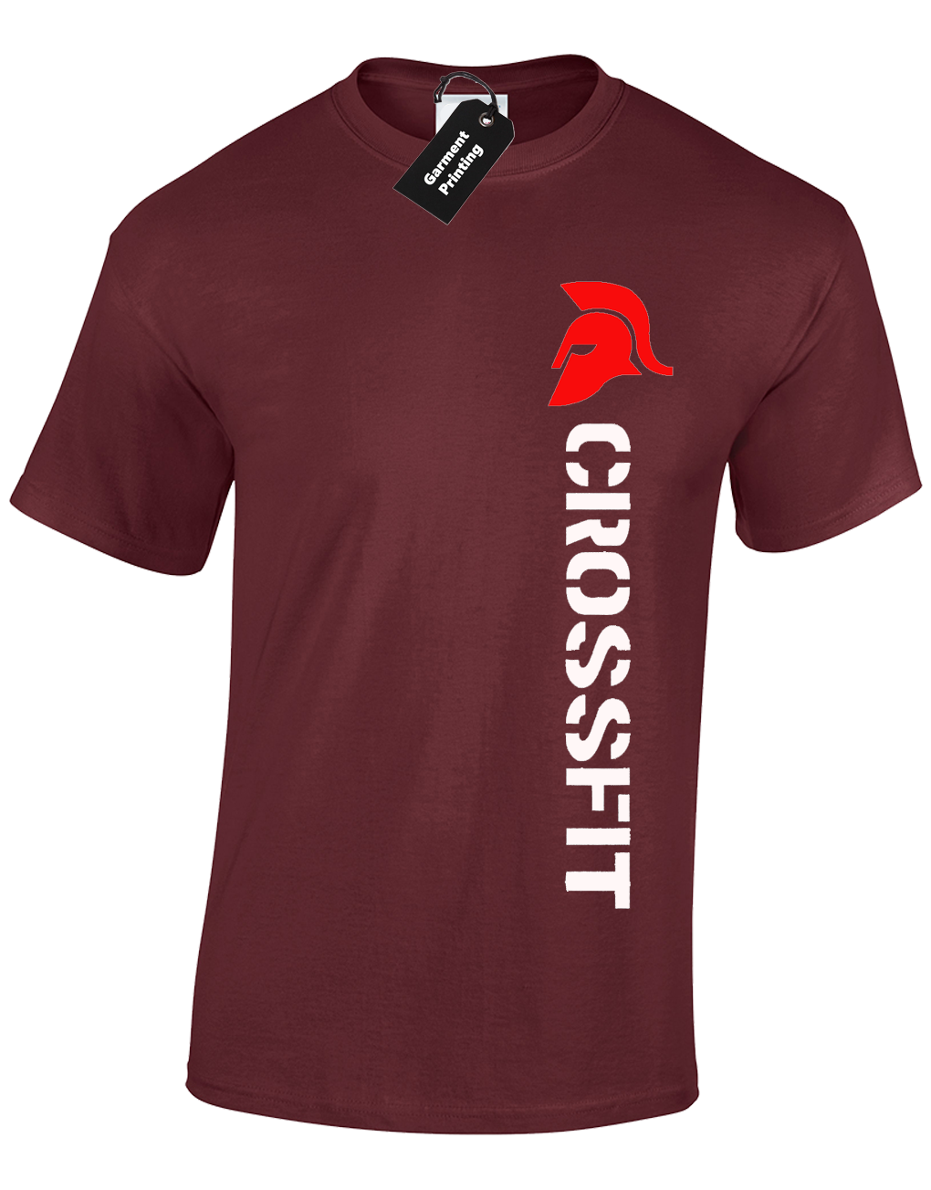 405405ef7 Crossfit Spartan Mens T-Shirt Training Top For Gym Weights Running Fitness  8 8 of 12 ...