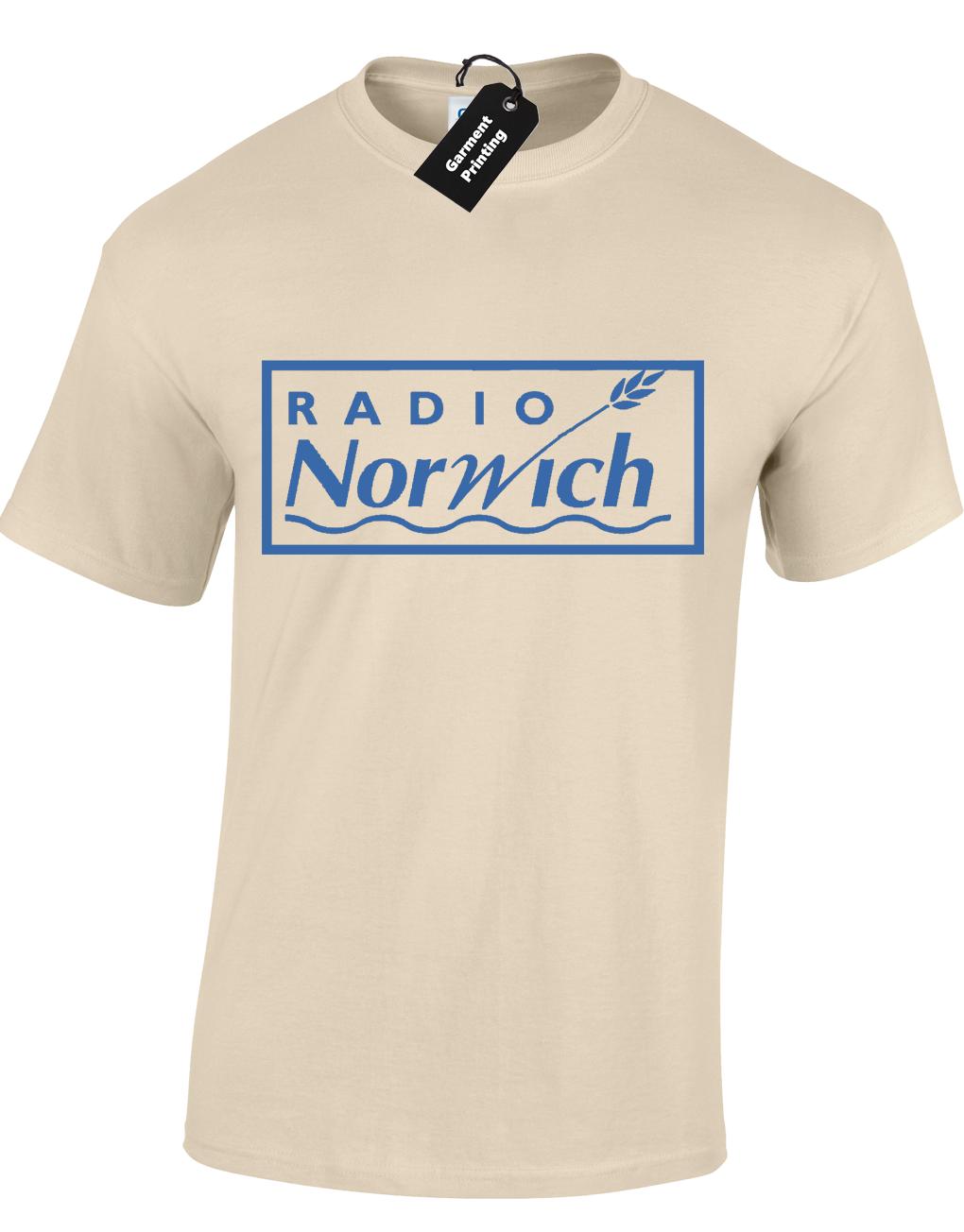 RADIO NORWICH MENS T SHIRT TEE FUNNY ALAN NORTH NORFOLK PARTRIDGE JACKANACKANORY