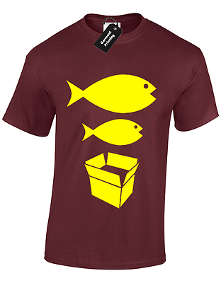 Big Fish Little Fish Mens T Shirt S-5Xl Dance Dj Acid House Rave Hacienda Music 6