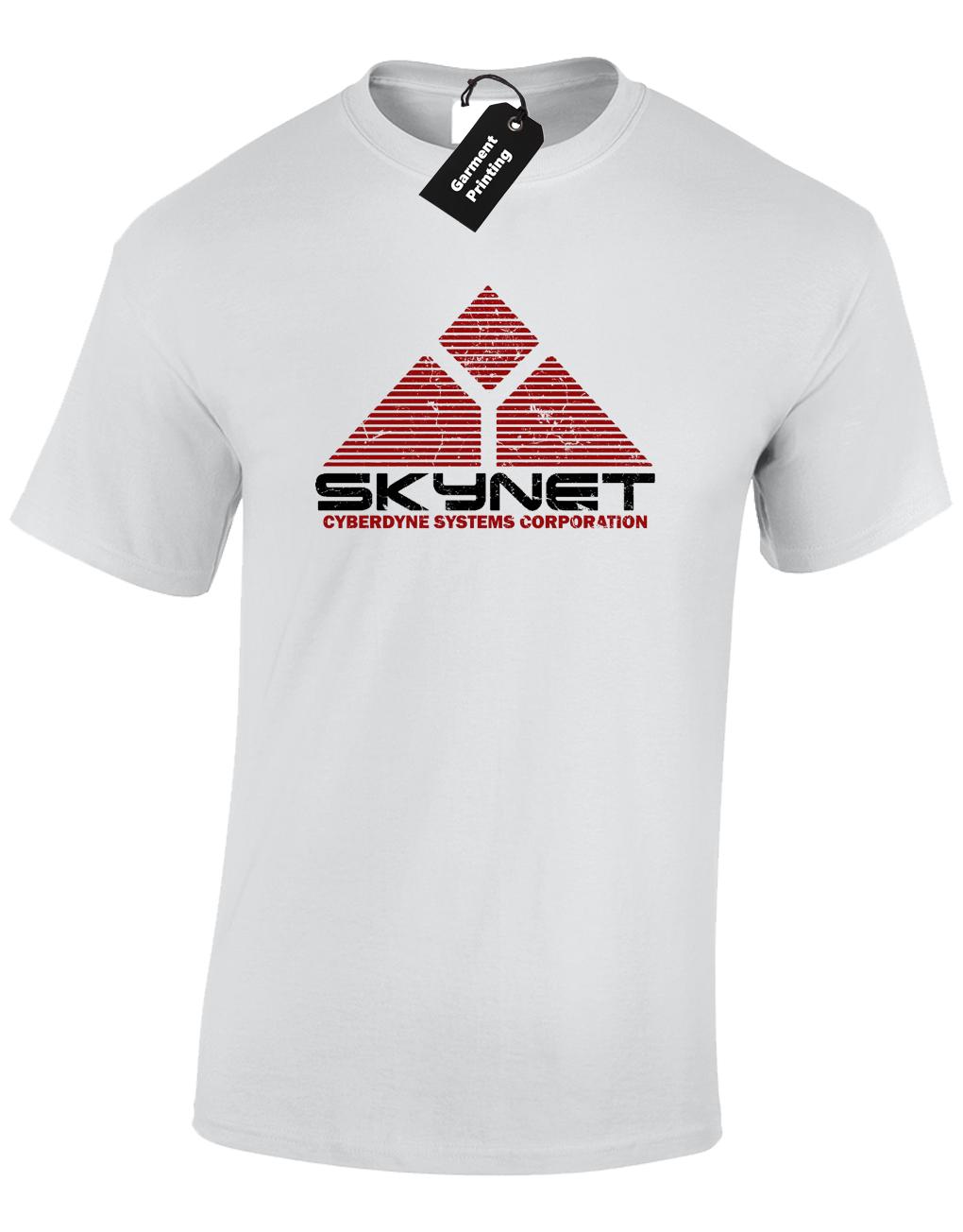 x12 Colours Cyberdyne Skynet Hoodie Movie Film Gift Robot Funny Sci-Fi