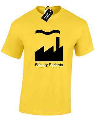 Factory Records Mens T Shirt Tee Manchester Music 90'S Acid House Rave Hacienda 3