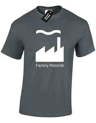 Factory Records Mens T Shirt Tee Manchester Music 90'S Acid House Rave Hacienda 2