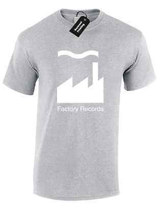 Factory Records Mens T Shirt Tee Manchester Music 90'S Acid House Rave Hacienda 5