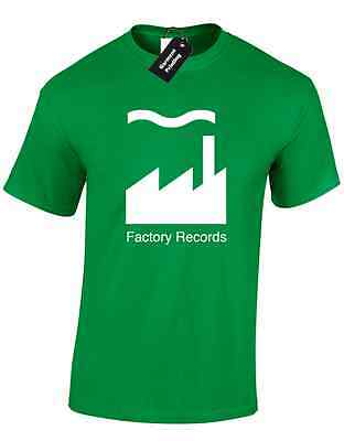 Factory Records Mens T Shirt Tee Manchester Music 90'S Acid House Rave Hacienda 4