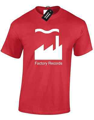 Factory Records Mens T Shirt Tee Manchester Music 90'S Acid House Rave Hacienda 8