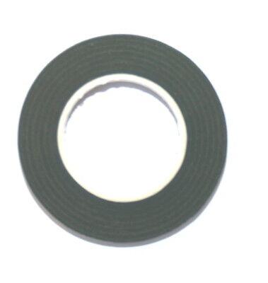 12 Reels Of Dark Green Floral Florist Tape Waterproof Buttonholes Stemwrap 2