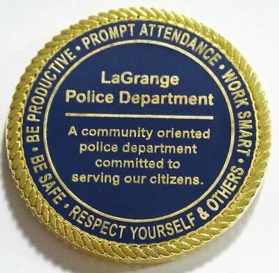 Lagrange Police Department Georgia Challenge Coin NEW 2