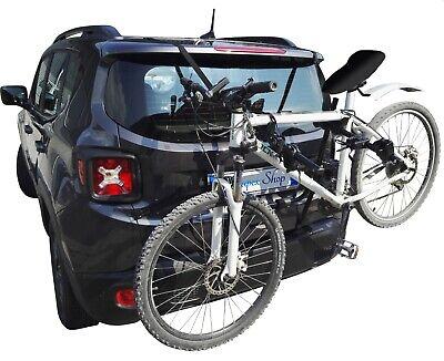 Portabici Universale Sportello Posteriore Da Auto Per Trasporto 3 Bici Insieme 3