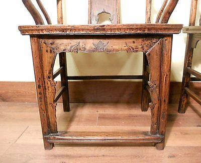 Antique Chinese High Back Arm Chairs (5511) (Pair), Circa 1800-1849 5