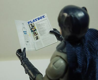 1//12 Scale Custom Catwoman Playboy for Batman 6 inch includes interior pages
