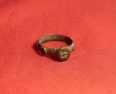 Fine Ancient Celtic Finger Ring - Rare! 5