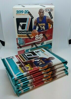 2019-20 PANINI DONRUSS NBA Basketball (1) NEW RETAIL PACK 8 CARDS MORANT? ZION? 4